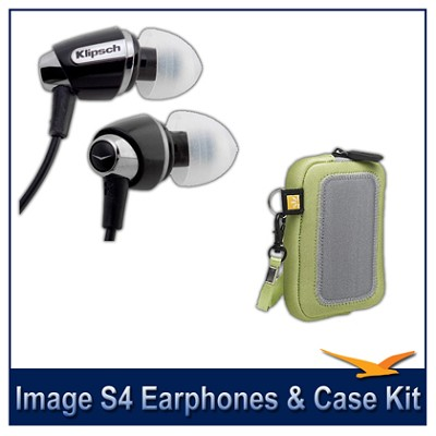 Image S4 In-Ear Enhanced Bass Noise-Isolating Headphones Bonus Pack