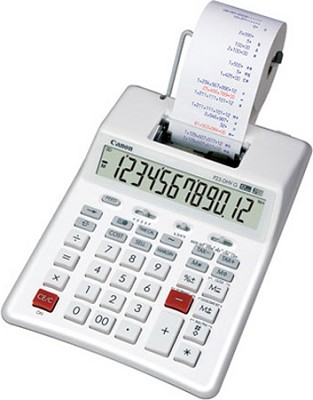 P23-DHV G 2-Color 12-Digit LCD Palm Printing Calculator