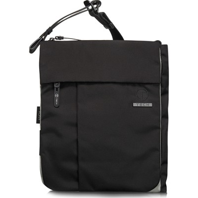 T-Tech Civilian Paolo Zip Flap Crossbody (Black Ice)