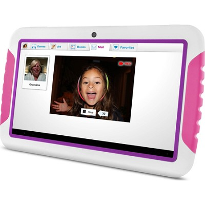 FunTab XL 9` Multi-Touch Screen Kid Safe Pink Tablet w/ Android 4.1, Jelly Bean