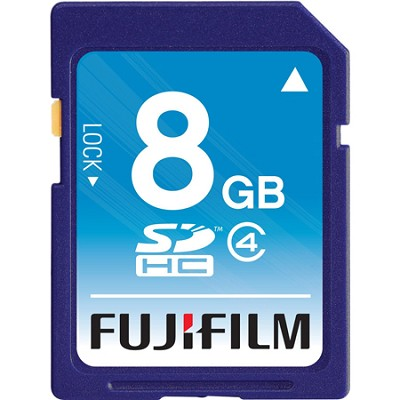 8 GB SDHC Class 4 Flash Memory Card