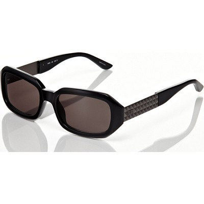 Black Frame with Grey Lens with 3D Studded Detail Sunglasses