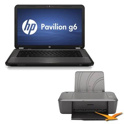 G6-1d80nr 15.6` Notebook PC - AMD Dual-Core A4-3305M Processor - Printer Bundle