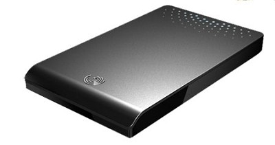 FreeAgent Go Flex 320 GB USB 2.0 Portable External Hard Drive (Black)