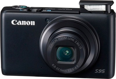 Powershot S95 10MP Compact Digital Camera w/ 720p HD Video