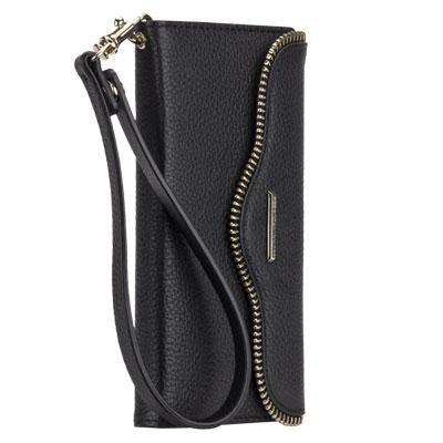 Rebecca Minkoff Leather Folio in Black for iPhone 6 Plus - CM032241