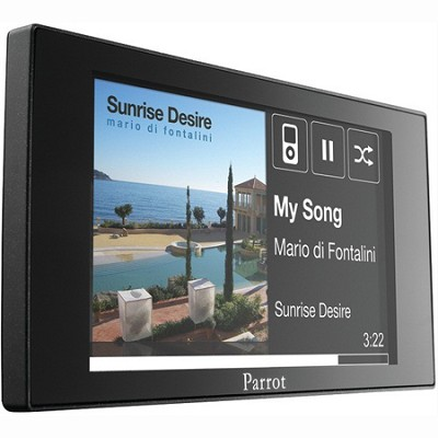Asteroid MINI In-Car Multimedia System with Apps, Music, Bluetooth - PF380008