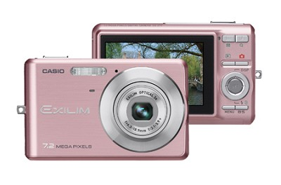 EXILIM EX-Z77 - 7.2MP Digital Zoom Camera (Pink)
