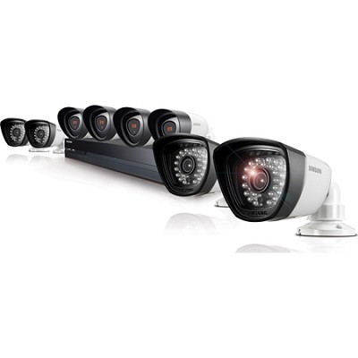 16CH 8 Camera Full HD DVR Security System with 2TB HDD