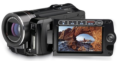 VIXIA HF10 Flash Memory Camcorder W/ 16GB Internal Drive