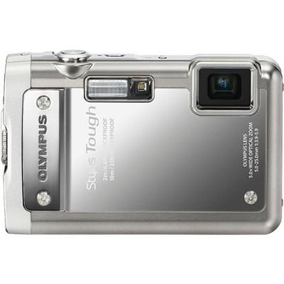 Stylus Tough 8010 Waterproof Shockproof Freezeproof Digital Camera (Silver)