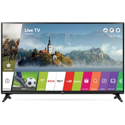 49LJ5500 - 49-Inch 1080p Smart LED TV (2017 Model) - OPEN BOX