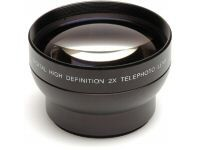 37mm High Definition Pro 2x Telephoto Conversion Lens (Black)
