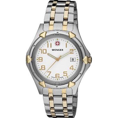 Men's Standard Issue XL Watch - White Dial/Bi-Color Stainless Steel Bracelet