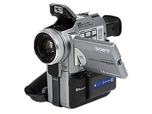 DCR-PC120BT MiniDV Handycam Camcorder
