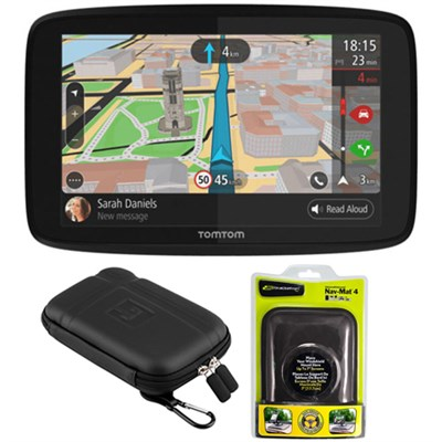 GO 520 GPS 5` Touch Screen (US-CAN-MEX) w/ Protect and Stow Case and Dash Mount