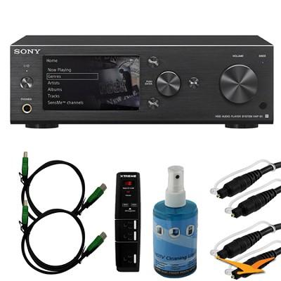 HAPS1/B 500GB Hi-Res Music Player System - Black Bundle
