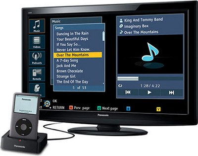TC-L32X2 VIERA 32-Inch 720p LCD HDTV with iPod Dock