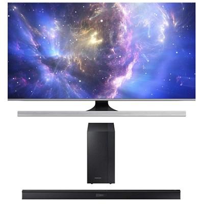 UN65JS8500 - 65-Inch 2160p 3D Smart UHD TV HW-J450 Soundbar Bundle