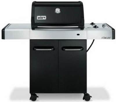 weber spirit e 210 propane grill black 4411001. Black Bedroom Furniture Sets. Home Design Ideas