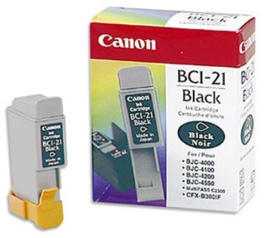 Canon BCI-21 Black Ink Tank
