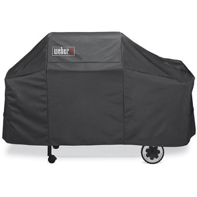 Premium Cover, Fits Weber Genesis Silver/Gold Gas Grillsn -OPEN BOX
