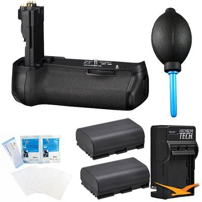 Vertical BG-E9 Battery Grip for the Canon EOS 60D Kit