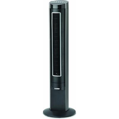 2543 - 41-Inch Elite Remote Control Tower Fan, Black