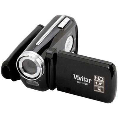 DVR-508 Camcorder 4X Digital Zoom 1.8inch LCD Screen - Black