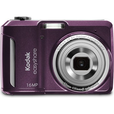 EasyShare C1550 16MP 5x Zoom 3.0 inch LCD Purple Digital Camera