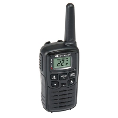 T10 22 Channel/ 20 Mile Two Way Radio with 38 CTCSS & W/X Alert