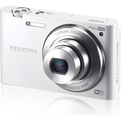 MV900 Smart Touch Multi View 3.3` LCD White Digital Camera