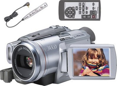 PV-GS250 MiniDV Digital Camcorder w/3CCD & 3.1M.P - OPEN BOX