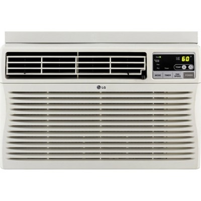 8,000 BTU Window-Mounted Air Conditioner with Remote Control (115 volts) - OPEN
