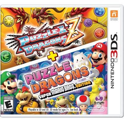 Puzzles and Dragons SMB 3DS