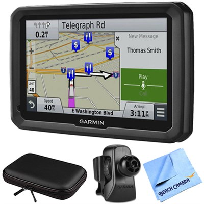 dezl 770LMTHD 7` GPS with Lifetime Map and Traffic Updates Air Vent Mount Bundle