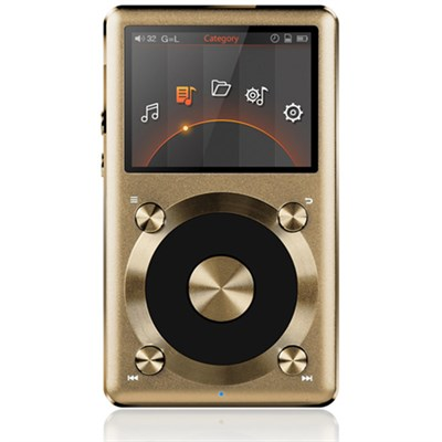 X3-II High Resolution Lossless Music Player - Gold