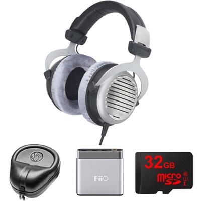 DT 990 Premium Headphones 600 OHM - 483966 w/ M-Audio Amp. Bundle