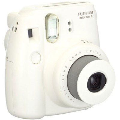 Instax 8 Color Instax Mini 8 Instant Camera - White - OPEN BOX