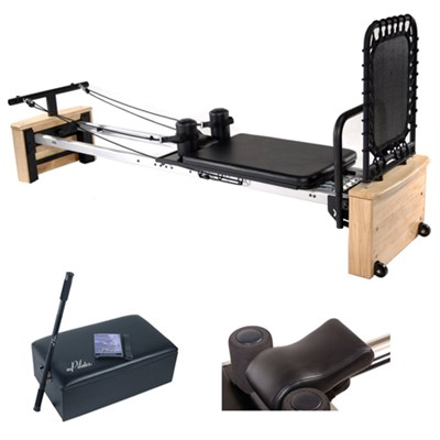 AeroPilates Pro XP557, w/ Head & Neck Pillow & Pilates Box and Pole