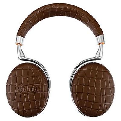 Zik 3 Wireless Bluetooth Headphones w/ Wireless Charger (Brown Croc) - OPEN BOX