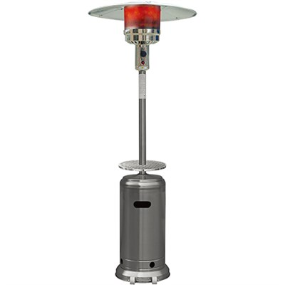 Steel Umbrella Patio Heater 7' tall Propane 41000 BTU