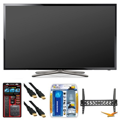 UN40F5500 40` 60hz 1080p WiFi LED Slim Smart HDTV Wall Mount Bundle