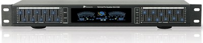 EQ-5400 Dual 10 band graphic equalizers with individual LED indicators