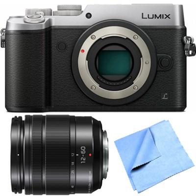 DMC-GX8SBODY LUMIX GX8 4K Interchangeable Lens Camera w/ 12-60mm Lens Bundle