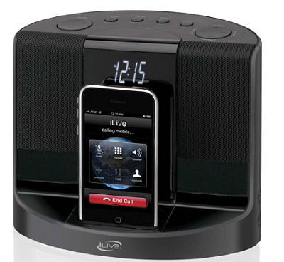 ICP601B Clock Radio for iPhone/iPod
