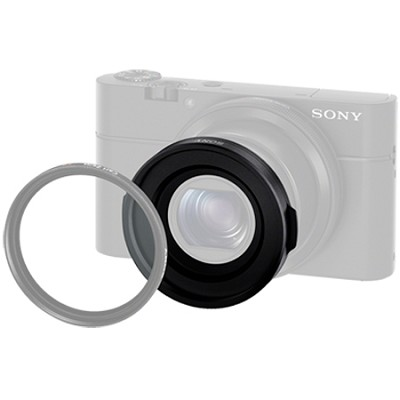 Filter Adapter for the for RX-100 & RX-100M2 & RX-1R (VFA-49R1)