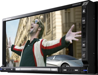 2-DIN DVD Multimedia Station With CeNet 7-Inch Touch Panel Control