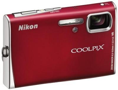 Coolpix S51 Digital camera (Red)