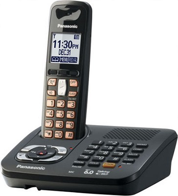 KX-TG6441T DECT 6.0 Expandable Digital Cordless Phone System